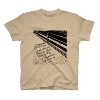 モノクロroad T-Shirt
