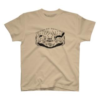 🥟猫の喧嘩🥟 T-shirts