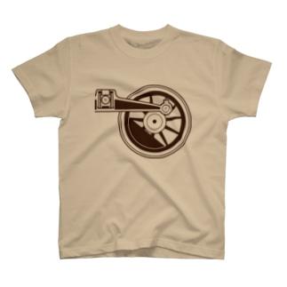 アプト式機関車動輪(1軸ビッグ) T-shirts