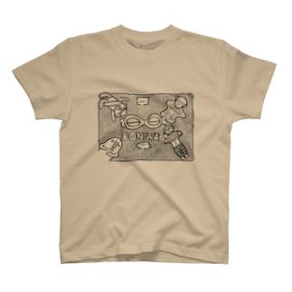 ドニワ迷路 T-shirts