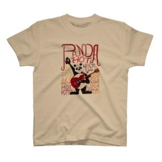 ロックなパンダ T-shirts