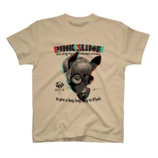 アナグリフでダークホースちゃん T-shirts