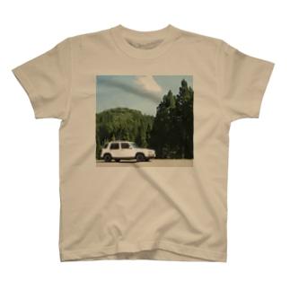 部屋とデニムとわたしの森とラシーン(色々カラー) T-Shirt