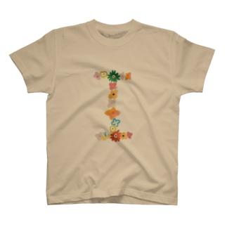 flowerアルファベットI T-Shirt