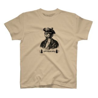 """『CAT PIRATE COCO 海賊猫 coco』の""""Keep Calm and Steampunk On ロゴ・グッズ スチームパンク T-shirts"""