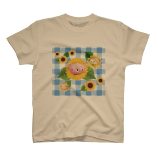 🐻🐶🐷ひまわりズ•夏 T-shirts