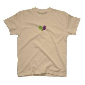 ハートの葡萄 T-shirts