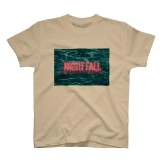 NIGHT FALL T-shirts
