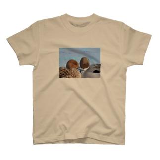 仲良しオナガガモ T-Shirt