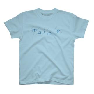 maimieちゃん雨模様 Tシャツ