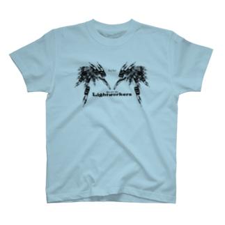 Lightworker(BLACK) Tシャツ