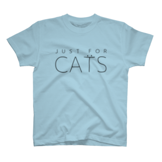 nyanco!のJUST FOR CATS / 1C Tシャツ