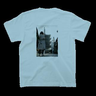 石川のてやん 五重塔 T-shirtsの裏面