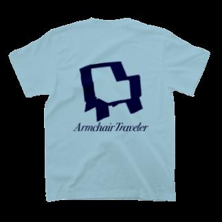NatolisunのArmchair Traveler T-shirtsの裏面