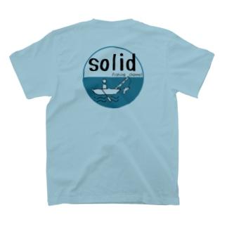 solid fishingchannel 丸ロゴ T-shirts