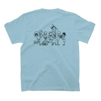 UPA method BLACK T-shirts