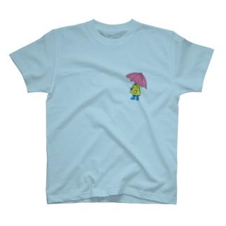 傘を持つ子ども T-shirts