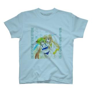 紅葉(くれは)と紫蘭(しらん) T-shirts