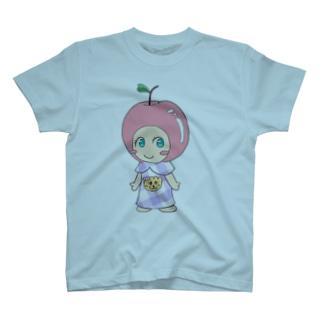 紫えみりんごちゃん T-shirts