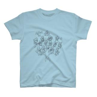 ねこちゃんオーケストラ T-shirts