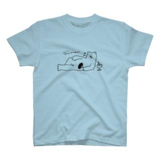夏は辛いしろくま T-shirts