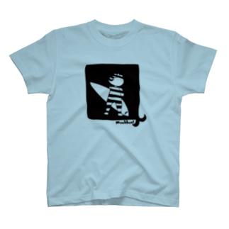 Surfing gentleman cat- 2018 summer - T-shirts