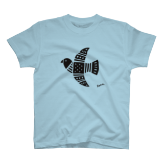 Keep on the sunny sideのBlack Bird T-shirts