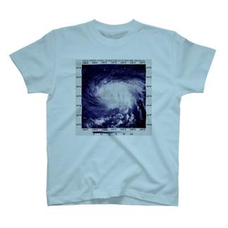 2018年最強台風マリア T-shirts