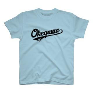 OKEGAWA TOUGE T-shirts