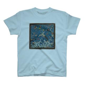 METの補子Tシャツ2-文官三品(孔雀) T-shirts
