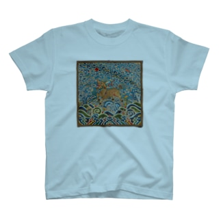 METの補子Tシャツ4-武官一品(麒麟) T-shirts