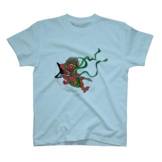 HOUSOのRAIZIN GUITAR T-shirts