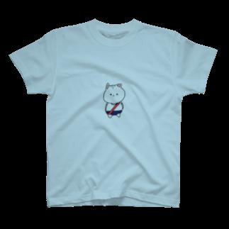 ( ΦωΦ )の運動会ぬこさん T-shirts