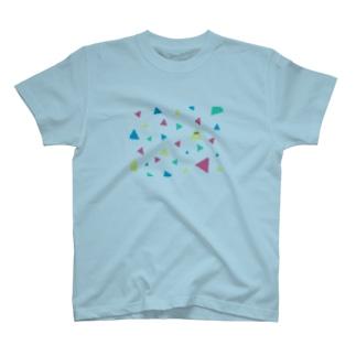 とらいあんぐるん T-shirts