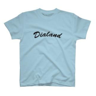 TEAM DIALAND BLACK T-shirts