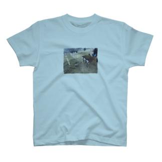 奈良の鹿しり T-shirts