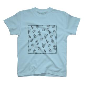 鉱物SUKI T-shirts