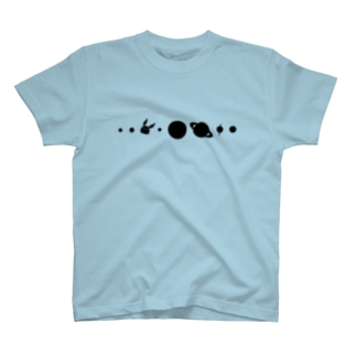 【復刻】コスモサイトウサン(2013年版)黒インク印刷 T-shirts