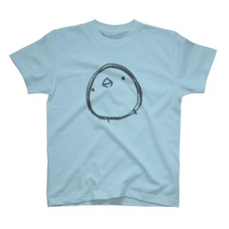 【復刻】シンプルひよこさん(2013)こげ茶 T-shirts