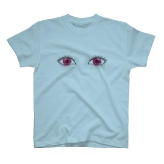 目 監視 涙 T-shirts
