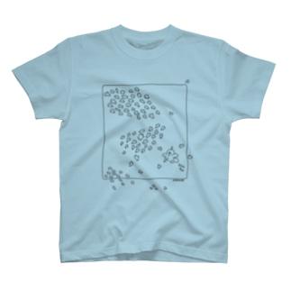 水中ニワトリ T-shirts