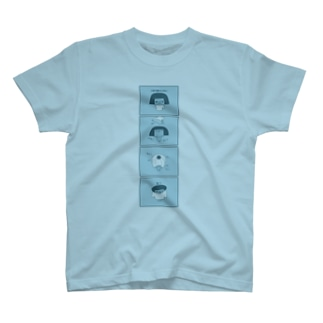 5秒で着替える T-shirts
