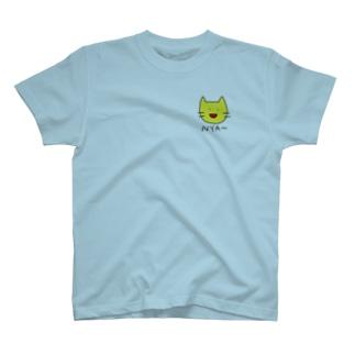 にゃー(きいろ) T-shirts