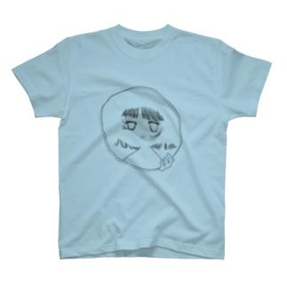 誰だって不確か.グレー T-shirts
