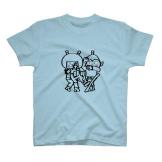 宇宙人パピプペポ T-shirts