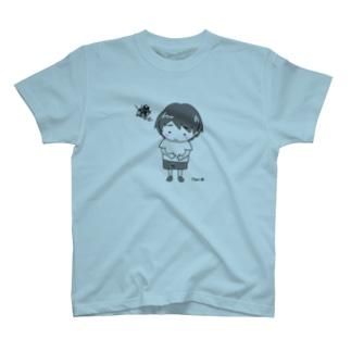 おなか-ぽーちゃん T-shirts