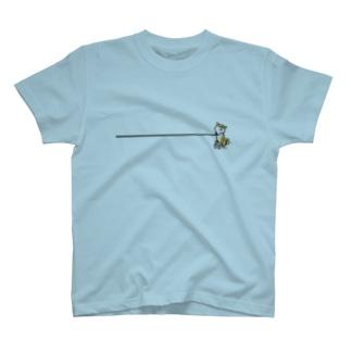 イヤイヤ柴犬(赤柴) T-shirts