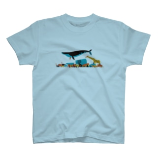Walking animals T-shirts