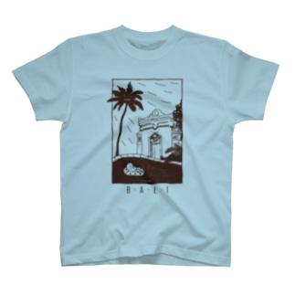 B-A-L-I (brown) T-shirts