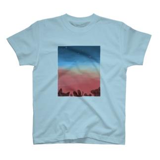 山のプラネタリウム T-shirts